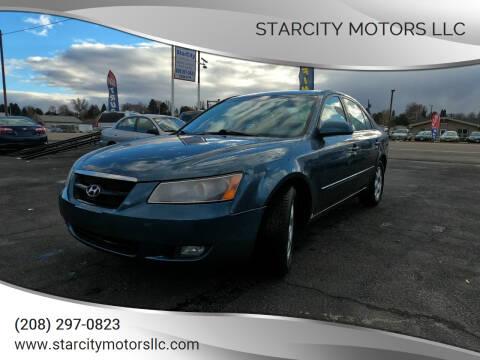 2006 Hyundai Sonata for sale at StarCity Motors LLC in Garden City ID