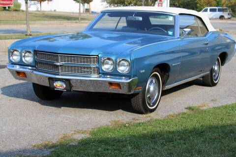 1970 Chevrolet Chevelle Malibu for sale at Great Lakes Classic Cars & Detail Shop in Hilton NY