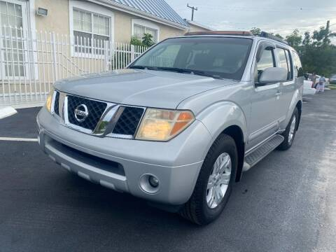 2007 Nissan Pathfinder for sale at UNITED AUTO BROKERS in Hollywood FL