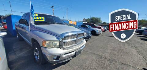 2003 Dodge Ram Pickup 1500 for sale at Juniors Auto Sales in Tucson AZ