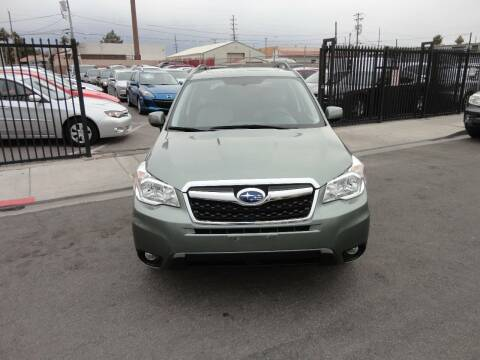 2016 Subaru Forester for sale at CONTRACT AUTOMOTIVE in Las Vegas NV