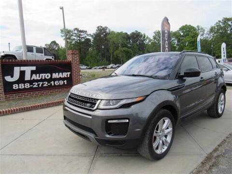 2017 Land Rover Range Rover Evoque for sale at J T Auto Group in Sanford NC