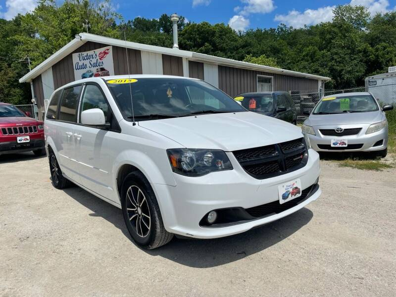 2015 Dodge Grand Caravan for sale at Victor's Auto Sales Inc. in Indianola IA
