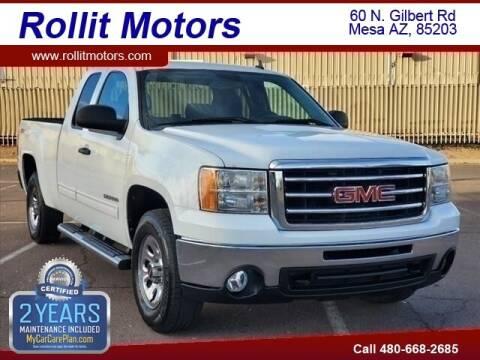 2012 GMC Sierra 1500 for sale at Rollit Motors in Mesa AZ