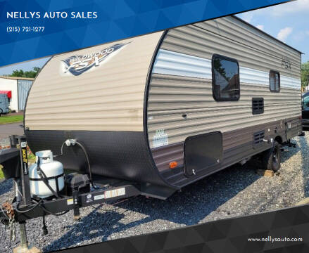 2018 Forest River Wildwood for sale at NELLYS AUTO SALES in Souderton PA