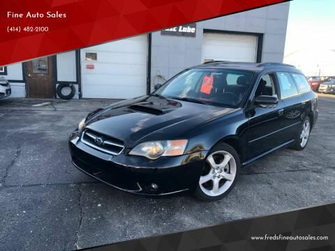 2005 Subaru Legacy for sale at Fine Auto Sales in Cudahy WI