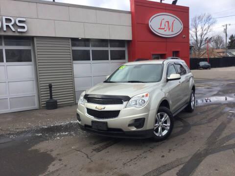 2015 Chevrolet Equinox for sale at Legend Motors of Waterford - Legend Motors of Detroit in Detroit MI