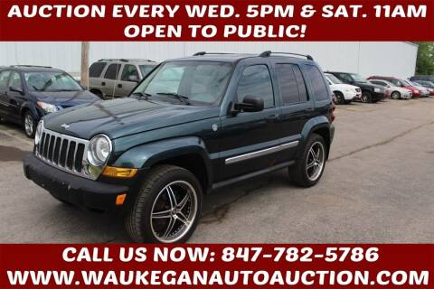 2006 Jeep Liberty for sale at Waukegan Auto Auction in Waukegan IL