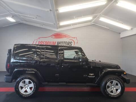 2012 Jeep Wrangler Unlimited for sale at Premium Motors in Villa Park IL
