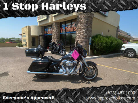 2013 Harley Davidson Street Glide FLHX  for sale at 1 Stop Harleys in Peoria AZ