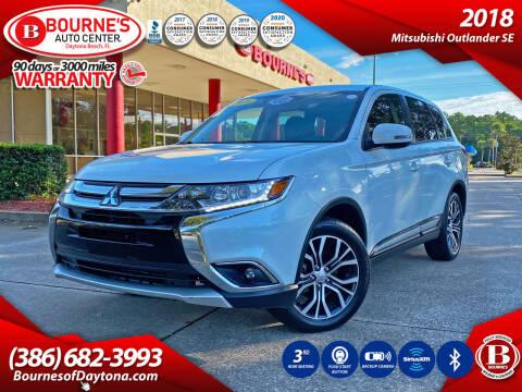 2018 Mitsubishi Outlander for sale at Bourne's Auto Center in Daytona Beach FL