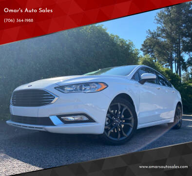 2018 Ford Fusion for sale at Omar's Auto Sales in Martinez GA