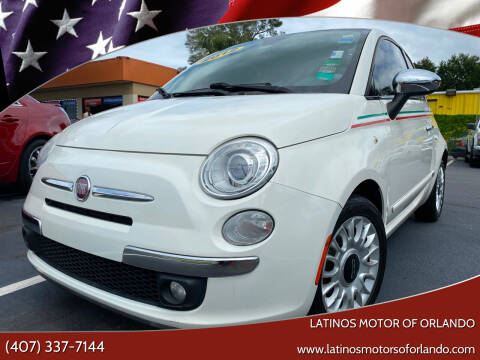 2012 FIAT 500 for sale at LATINOS MOTOR OF ORLANDO in Orlando FL