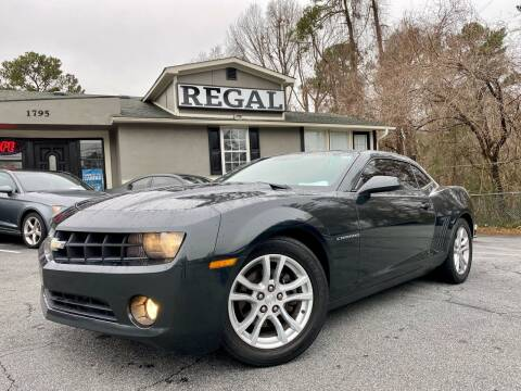 2013 Chevrolet Camaro for sale at Regal Auto Sales in Marietta GA