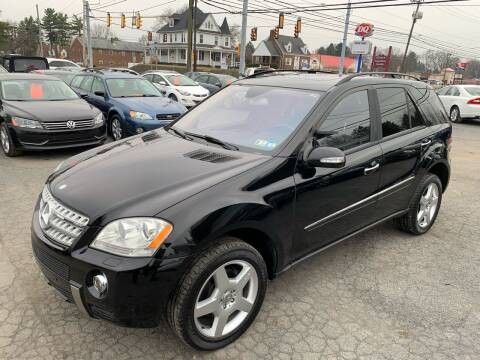 2006 Mercedes-Benz M-Class for sale at Masic Motors, Inc. in Harrisburg PA