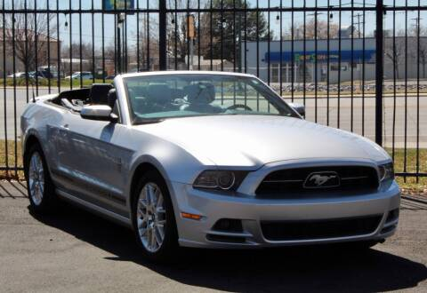 2014 Ford Mustang for sale at Avanesyan Motors in Orem UT