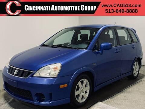 2006 Suzuki Aerio for sale at Cincinnati Automotive Group in Lebanon OH