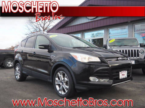 2015 Ford Escape for sale at Moschetto Bros. Inc in Methuen MA