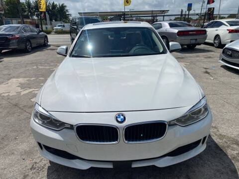 2015 BMW 3 Series for sale at America Auto Wholesale Inc in Miami FL