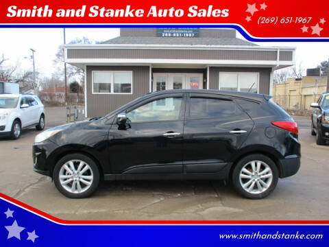 2012 Hyundai Tucson for sale at Smith and Stanke Auto Sales in Sturgis MI