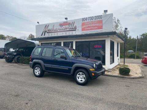 2005 Jeep Liberty for sale at Mechanicsville Auto Sales in Mechanicsville VA