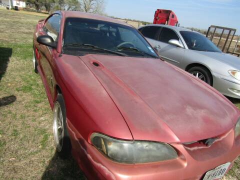 1997 Ford Mustang for sale at Hill Top Sales in Brenham TX