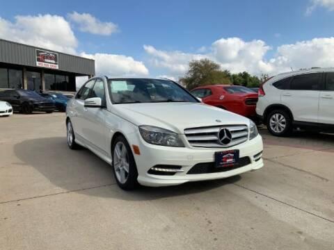 2011 Mercedes-Benz C-Class for sale at KIAN MOTORS INC in Plano TX