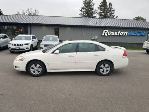 2009 Chevrolet Impala for sale at ROSSTEN AUTO SALES in Grand Forks ND