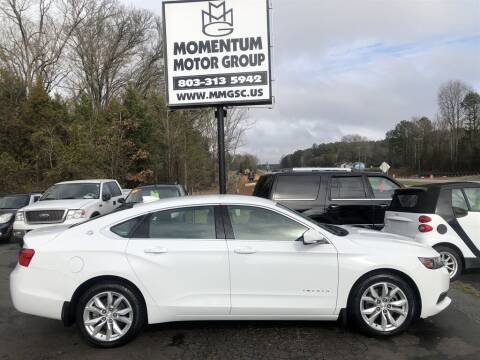 2017 Chevrolet Impala for sale at Momentum Motor Group in Lancaster SC