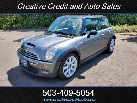 2004 MINI Cooper for sale at Creative Credit & Auto Sales in Salem OR