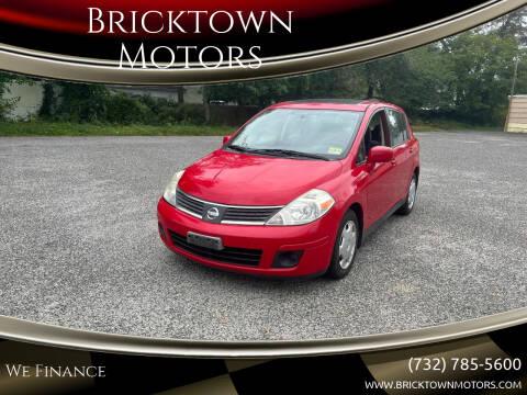 2008 Nissan Versa for sale at Bricktown Motors in Brick NJ