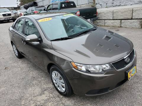 2010 Kia Forte for sale at Fortier's Auto Sales & Svc in Fall River MA