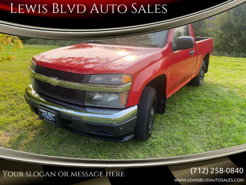 2006 Chevrolet Colorado for sale at Lewis Blvd Auto Sales in Sioux City IA