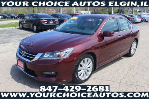2014 Honda Accord for sale at Your Choice Autos - Elgin in Elgin IL