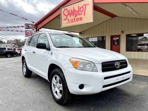 2007 Toyota RAV4 for sale at Sandlot Autos in Tyler TX