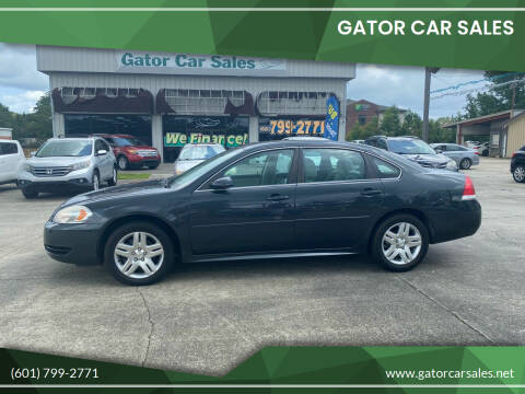 2013 Chevrolet Impala for sale at Gator Car Sales in Picayune MS