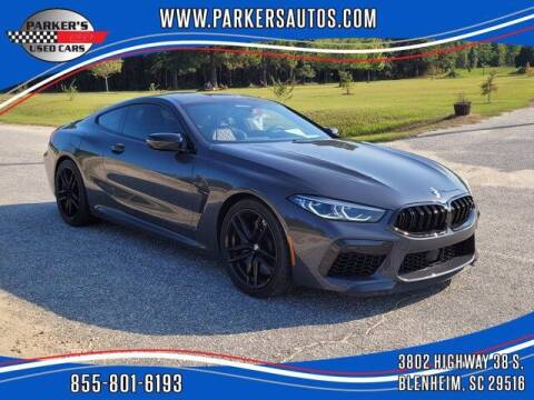 2020 BMW M8 for sale at Parker's Used Cars in Blenheim SC