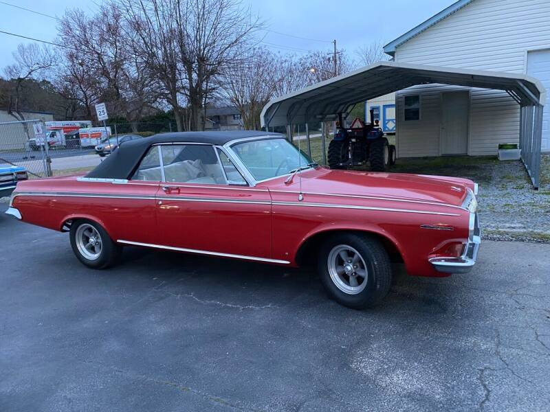 1963 Dodge Polara for sale at Classic Connections in Greenville NC