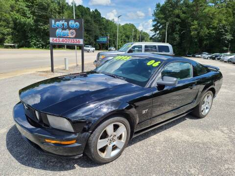 2006 Ford Mustang for sale at Let's Go Auto in Florence SC