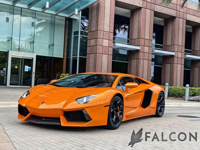 2012 Lamborghini Aventador for sale at FALCON AUTO BROKERS LLC in Orlando FL