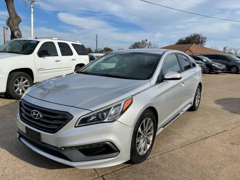 2015 Hyundai Sonata for sale at CityWide Motors in Garland TX