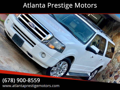 2011 Ford Expedition EL for sale at Atlanta Prestige Motors in Decatur GA
