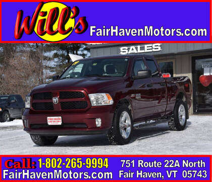 2017 RAM Ram Pickup 1500 for sale at Will's Fair Haven Motors in Fair Haven VT