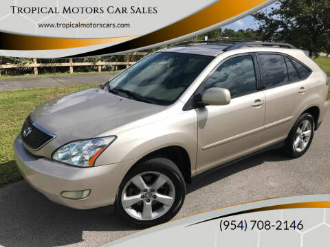 2005 Lexus RX 330 for sale at Tropical Motors Car Sales in Deerfield Beach FL