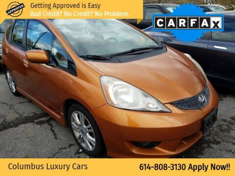 2010 Honda Fit for sale at Columbus Luxury Cars in Columbus OH