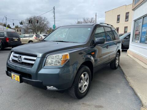 2006 Honda Pilot for sale at ADAM AUTO AGENCY in Rensselaer NY