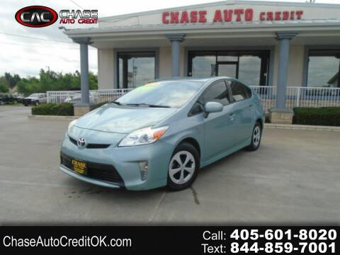 2015 Toyota Prius for sale at Chase Auto Credit in Oklahoma City OK