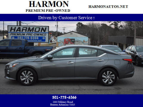 2020 Nissan Altima for sale at Harmon Premium Pre-Owned in Benton AR