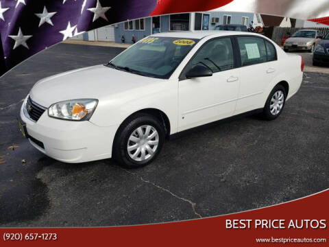 2008 Chevrolet Malibu Classic for sale at Best Price Autos in Two Rivers WI