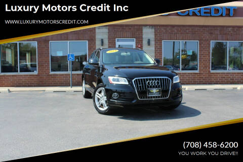 2014 Audi Q5 for sale at Luxury Motors Credit Inc in Bridgeview IL